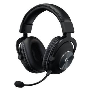 logitech 罗技 罗技(G)PRO X 游戏耳机麦克风 7.1环绕声 听声辩位电竞头戴式耳机 GPX狗屁香 黑色