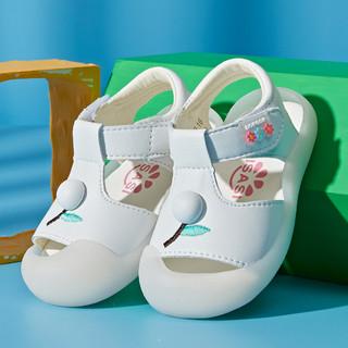 oulisasi 欧利萨斯 L90026 糖果色儿童凉鞋