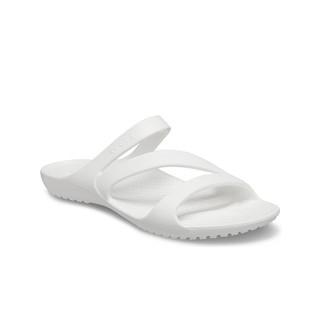 Crocs 卡骆驰 卡骆驰女凉鞋 2021夏季新款恺迪女士平底百搭休闲鞋
