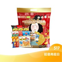 88VIP:PANPAN FOODS 盼盼 大唐风华膨化超值礼包  684g
