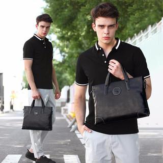 COW 法国男包 公文包男士手提包