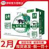2月 伊利金典有机纯牛奶250ml*12盒一整箱经典营养全脂纯奶批发
