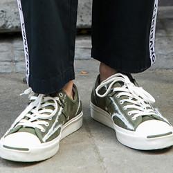 CONVERSE 匡威  166511C Jack Purcell 开口笑 中性低帮帆布鞋