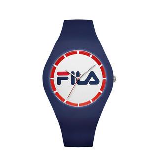 FILA 斐乐 手表男女欧美品牌男表女表情侣表学生硅胶石英表时尚潮流运动男女手表腕表671