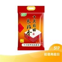 超值商超日、88VIP:SHI YUE DAO TIAN 十月稻田 长粒香大米  10kg