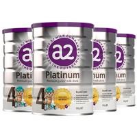 a2 艾尔 Platinum系列 儿童奶粉 澳版 4段 900g*4罐