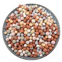 花举人 彩色实心陶粒球 1斤装