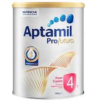 百亿补贴:Aptamil 爱他美 白金版 婴幼儿奶粉 4段 900g 1罐装