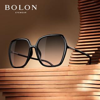 BOLON 暴龙 暴龙BOLON太阳镜多边形框时尚眼镜女款偏光墨镜BL5032A13