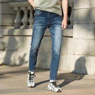 18日0点 : A21  4741003006 男款修身小脚牛仔裤