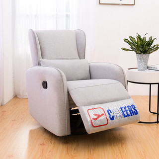 CHEERS 芝华仕 芝华仕 头等舱 小户型单人布艺功能沙发老虎懒人椅芝华士太空舱K275 莫兰迪灰 30-60天发货