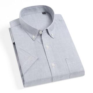 Fapai 法派 新款男士衬衫商务休闲简约清爽男士短袖衬衫