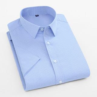 Fapai 法派 夏季新款经典男士时尚休闲简约修身透气男士短袖衬衫