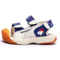 SNOOPY 史努比  儿童包头凉鞋