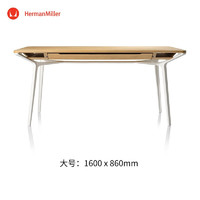 Herman Miller 赫曼米勒 Carafe 餐桌 书桌 电脑桌 桌子 白橡木色-大号