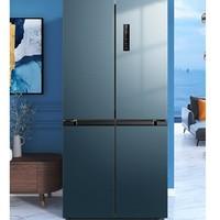 Midea 美的 BCD-472WSPZM(E) 对开门冰箱 472L