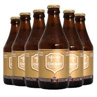PLUS会员:CHIMAY 智美 金帽啤酒4.8%vol组合装  330ml*6瓶