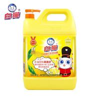 PLUS会员:Baimao 白猫 柠檬红茶洗洁精 5kg