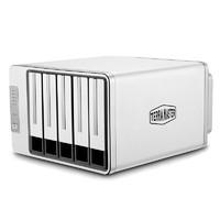 学生专享:TERRAMASTER 铁威马 D5-300C 5盘位2+3磁盘阵列盒阵列柜 硬盘盒