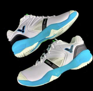 VICTOR 威克多 P9200 II 中性羽毛球鞋 白/翡蓝 38