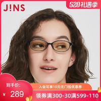 JINS睛姿电脑护目镜JM SCREEN HEAVY防蓝光辐射日用护眼FPC17A001 #497 亚光黑色