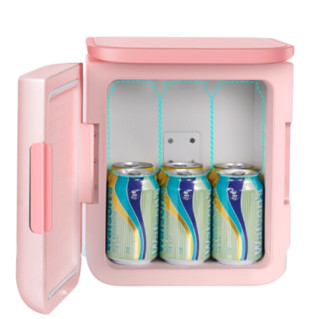 BASEUS 倍思 ACXBW-04 迷你冰箱 6L 粉色