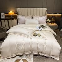Xanlenss 轩蓝仕 140支匹马棉刺绣四件套 床单款 1.8m