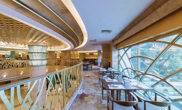 周末/节假日通用!新世界丽笙大酒店 旋景餐厅双人下午茶