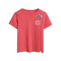Gap 盖璞 漫威系列 545143 男童短袖T恤 红色 100cm