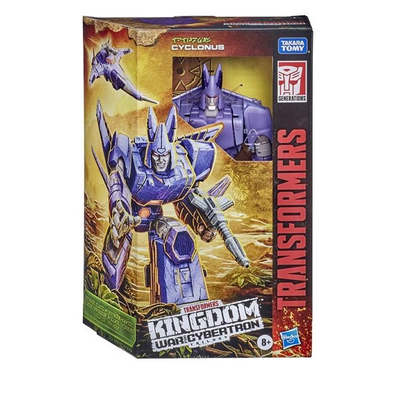 Transformers 变形金刚 决战塞伯坦王国系列 航行家级 F0692 狂飙