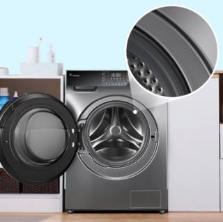 LittleSwan 小天鹅 除菌系列 TG100V66WIADY 滚筒洗衣机 10kg 银色
