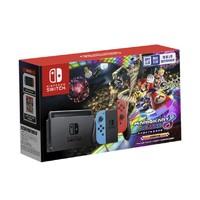 Nintendo 任天堂 国行 Switch游戏主机 续航增强版 红蓝+《马力欧赛车8》套装