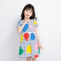 I.K 印象童年 女童短袖连衣裙