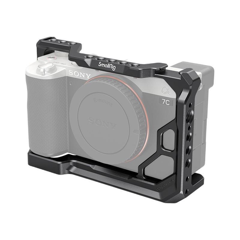 斯莫格 3081 索尼A7C兔笼+2904 监视器支架