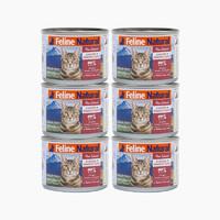 PLUS会员:k9 Natural 新西兰进口成猫幼猫天然无谷猫主食罐头 170g*6