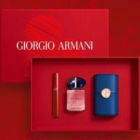 GIORGIO ARMANI 乔治·阿玛尼 心动香遇礼盒(唇釉#405+MY WAY香水30ml)