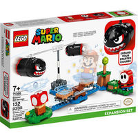 LEGO 乐高 超级马里奥系列 71366 大炮弹刺客发射扩展关卡