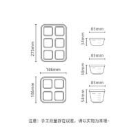 JDCOCO 集得 辅食盒 冷冻盒婴儿储存盒便携外出密封保鲜盒辅食碗80ML硬底辅食盒装粉色