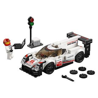 LEGO 乐高 Speed超级赛车系列 75887 保时捷 919 Hybrid