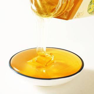 蜂蜜天然农家自产纯正百花蜜洋槐土蜂蜜500g2瓶共2斤