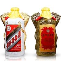 MOUTAI 茅台 飞天 双龙汇 53度 酱香型白酒 25L*2瓶