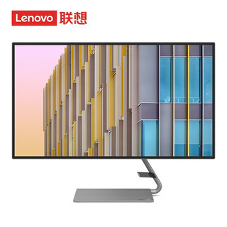 ThinkPad 思考本 联想(Lenovo)27英寸 2K IPS 四边微边框   内置音箱  电脑显示器(Type-c接口)Q27h-10