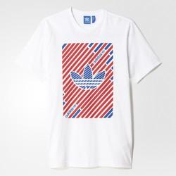 adidas 阿迪达斯 AJ7117-01 男士运动短袖