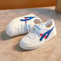 WARRIOR 回力 新品儿童鞋男女童时尚魔术贴经典款小白鞋潮鞋