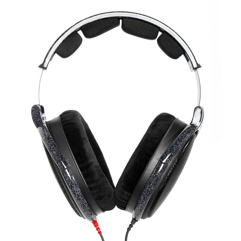 SENNHEISER 森海塞尔 Sennheiser)HD600 升级版 HIFI高保真耳机开放式头戴  黑色