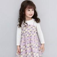 Deesha 笛莎 女童假两件公主裙