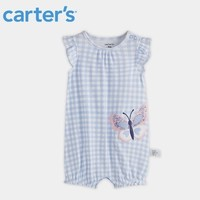 Carter's 孩特 纯棉婴儿短袖连体衣