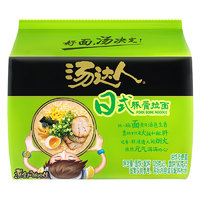 Uni-President 统一 汤达人 日式豚骨味方便面 五连包
