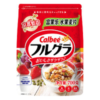 原味水果麦片 700g+ 西麦燕麦片560g+ 伊利斯谷水果燕麦片420g+ 三只松鼠 蛋糕400g+ 盐250g*2件