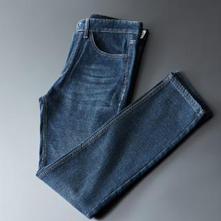 Fapai 法派 新款男士商务休闲直筒牛仔裤长裤男牛仔裤男式牛仔裤